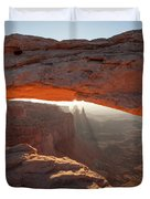 Arcing Light Duvet Cover
