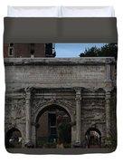 Arco Di Settimio Severo Duvet Cover