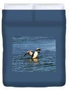 Arctic Loon Duvet Cover