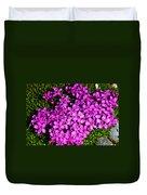 Arctic Wild Flowers Duvet Cover