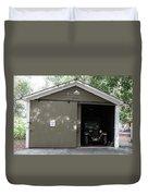 Ardenwood Historic Farm Garage Duvet Cover