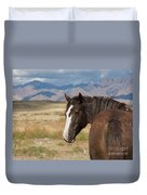 Are You Coming? Duvet Cover by Nicole Markmann Nelson