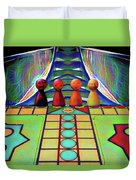 Are You Game Duvet Cover