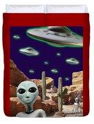 Area 51 Duvet Cover