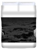 Area Sweep Bw Duvet Cover