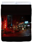D66l-4 Arena District Photo Duvet Cover