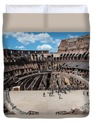 Arena Of Death And Glory Duvet Cover
