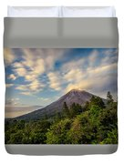Arenal At The Sun's Last Touch Duvet Cover