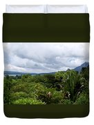 Arenal Lake And Volcano Duvet Cover