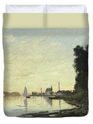 Argenteuil In Late Afternoon Duvet Cover