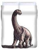 Argentosaurus Duvet Cover