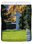 Argonne Cross Memorial Duvet Cover