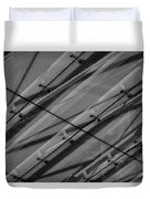 Aria Hotel Canopy Abstract Duvet Cover