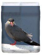 Arica Chile Sea Bird Duvet Cover