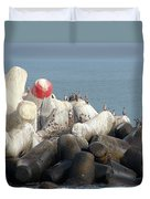 Arica Chile Sea Life Duvet Cover