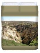 Arikaree Breaks Canyon Duvet Cover