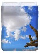 Arizona Blue Sky Duvet Cover