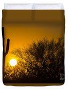 Arizona Cactus #2 Duvet Cover