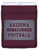 Arizona Cardinals Retro Shirt Duvet Cover