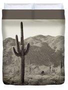 Arizona Desert Duvet Cover