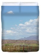 Arizona Farming Duvet Cover