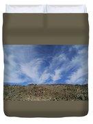 Arizona Foothill Sky Duvet Cover