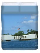 Arizona Memorial Duvet Cover