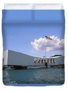 Arizona Memorial Duvet Cover