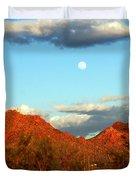 Arizona Moon Duvet Cover