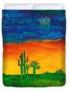Arizona Rain Duvet Cover