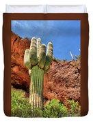 Arizona Saguaro #1 Duvet Cover