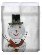 Arizona Snowman Duvet Cover