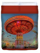 Arizona State Fair Duvet Cover