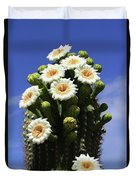 Arizona State Flower- The Saguaro Cactus Flower Duvet Cover