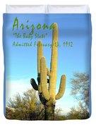 Arizona The Baby State Duvet Cover