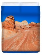 Arizona-utah- North Coyote Buttesthe Wave Duvet Cover
