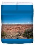 Arizona's Painted Desert Duvet Cover
