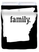 Arkansas Cool Gift Family State Shirt Light Duvet Cover