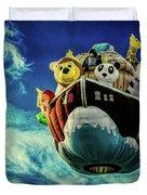 Arky  Noah's Ark Duvet Cover