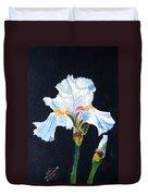 Arlene's Iris Duvet Cover
