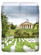 Arlington House Half Mast  Duvet Cover