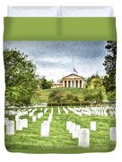 Arlington House Half Mast  Duvet Cover