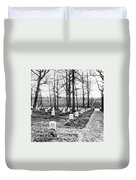 Arlington National Cemetery - C 1867 Duvet Cover by International  Images