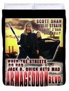 Armageddon Blvd.  Duvet Cover