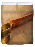 Armenian Duduk Duvet Cover