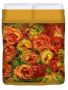 Armful Of Roses 1918 Duvet Cover