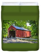 Armstrong/clio Covered Bridge Duvet Cover