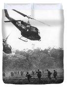 Army Airborne In Vietnam Duvet Cover