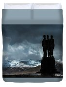 Army Commando Memorial  Duvet Cover