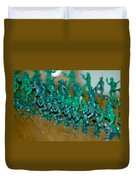 Army Men Line Up Duvet Cover